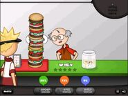 Wally get Burgerzilla
