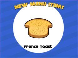 Unlocking french toast