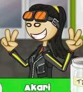 Aki's big smile