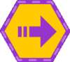 Slide-badge