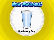 Blueberry Tea