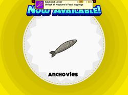 Papa's Pastaria - Anchovies