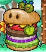 Burgerzilla Portrait AND Burgerzilla Beater Badges
