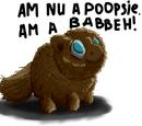 Brown Fluffy
