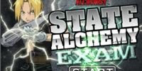 State Alchemy Exam (Flash Game)