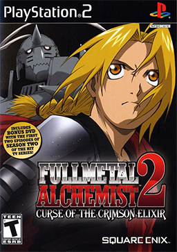 Fullmetal Alchemist 2 - Curse of the Crimson Elixir Coverart