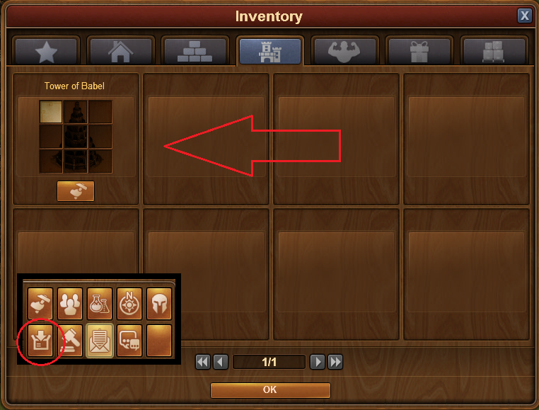 how to leave a guild forge of empires