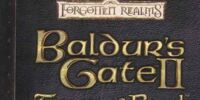 Baldur's Gate II: Throne of Bhaal (novel)