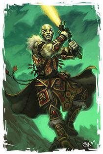Goliath swordmage McLean Kendree