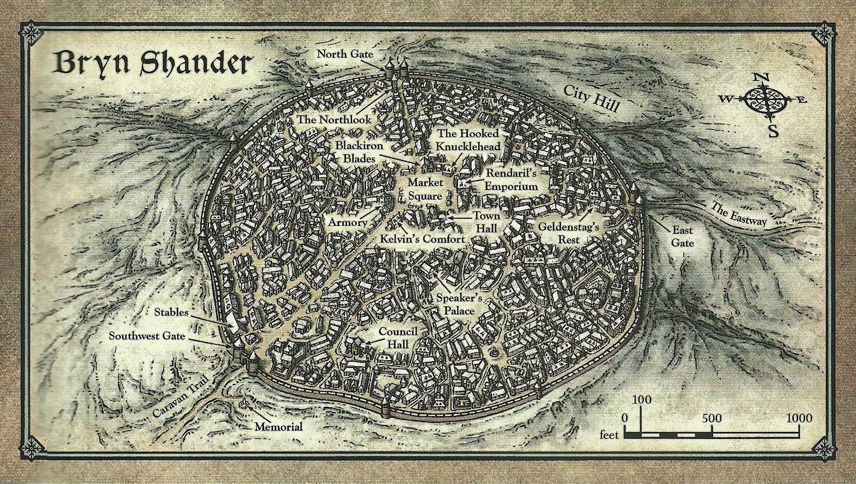 Bryn Shander Forgotten Realms Wiki Fandom Powered By Wikia