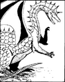 Monster manual 1e - Green dragon - p33.png