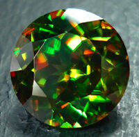 Sphene-faceted-green-red