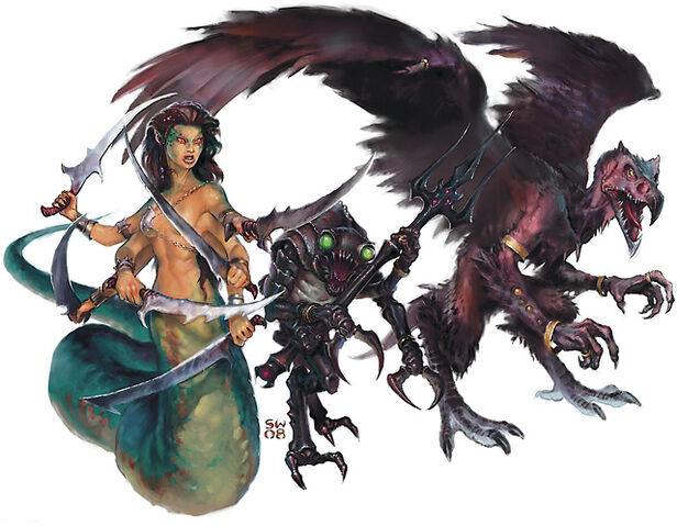 File:Monster Manual 4e - Marilith, mazzodemon, vrock - p57 - Sam Wood.jpg
