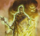 Aura against flame
