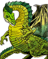 Monstrous Manual 2e - Green Dragon - p67.png