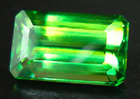 Sphene-faceted-green