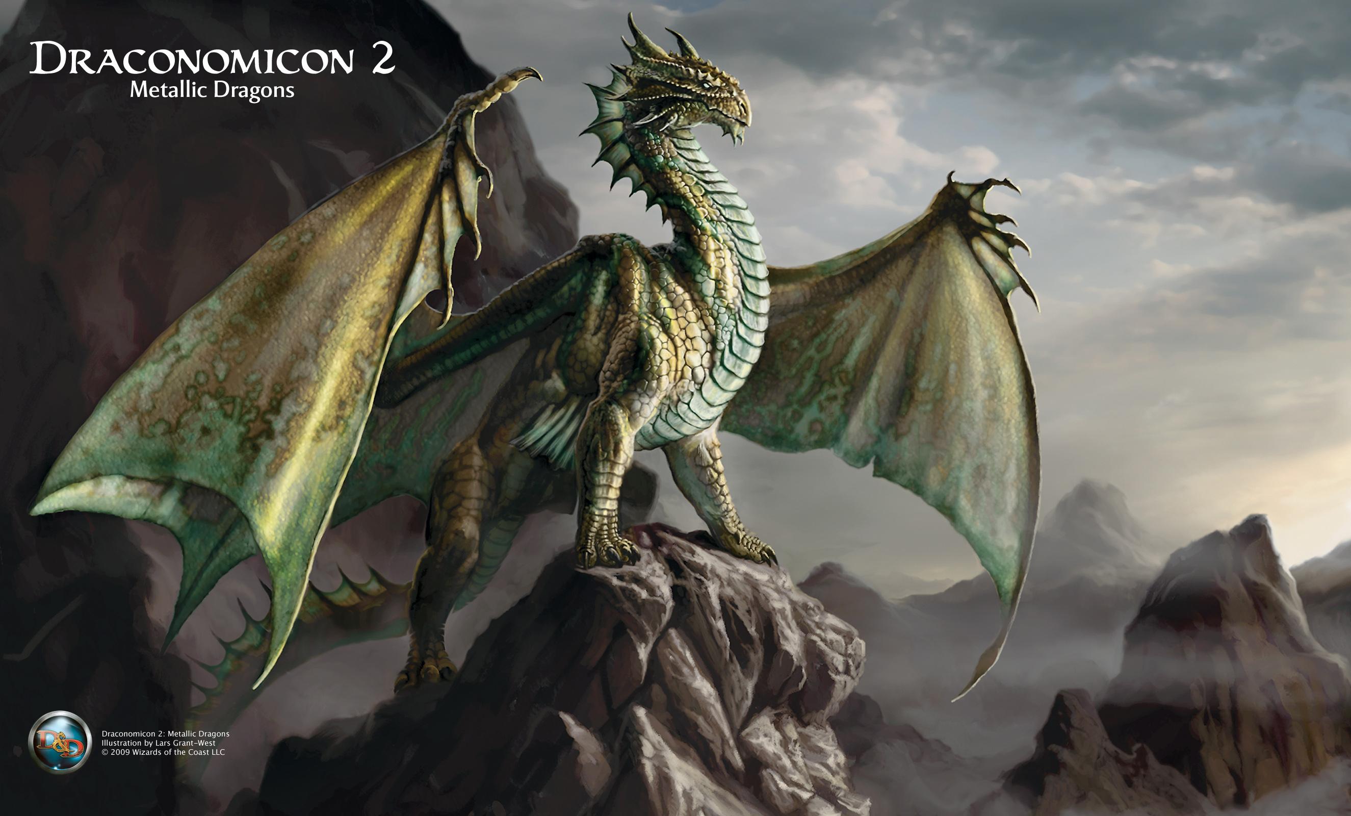 Dragonomicon Metalic Dragons  Dragon