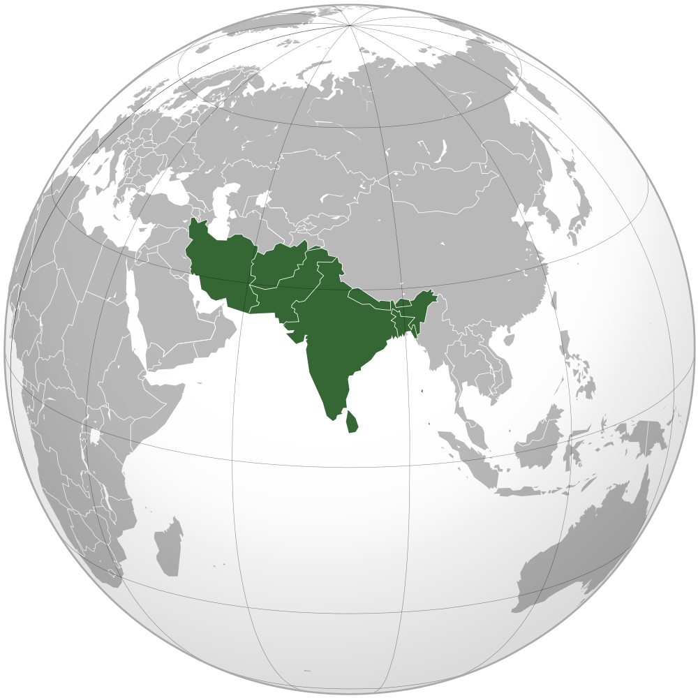 Image Map of South Asiapng The Countries Wiki – Map South Asia