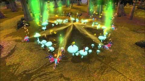 World of Warcraft Whispering Forest Faerie Dragon