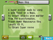 Mapo King Fossilary FFC
