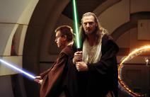 Qui-Gon et Obi Wan