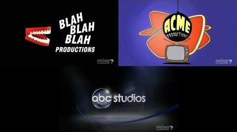 Blah Blah Blah Productions+ACME Productions+ABC Studios