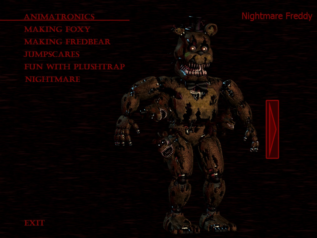 Nightmare Freddy - FNAF 4 by Choco-Floof on DeviantArt