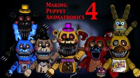 (FNAF Speed Edit) Making Puppet Animatronics Part 4 (1 2)