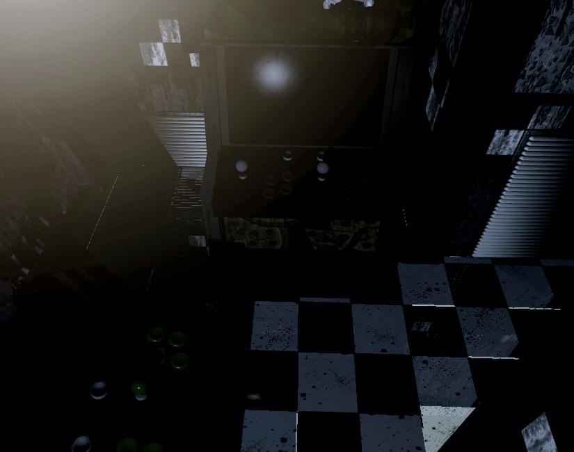 Empty Arcade Cabinet