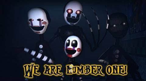 FNAF SFM We are number one but it's Puppet