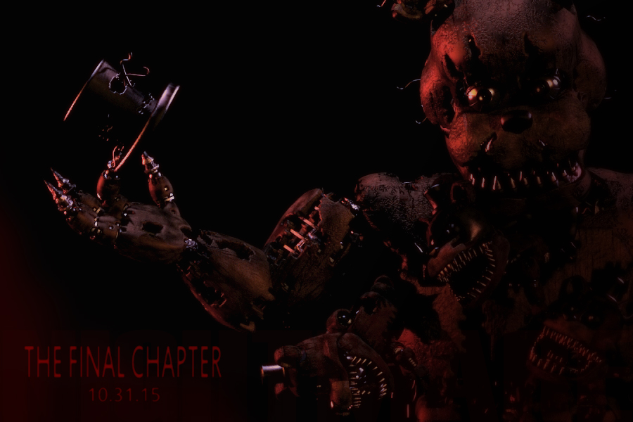 Pre-FNaF 4 Nightmare Freddy Jumpscare - YouTube