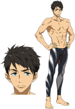 Sosuke Yamazaki full body in colour