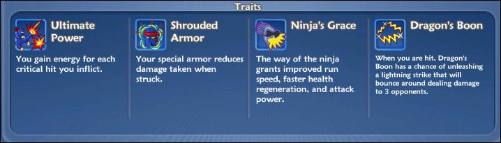 Ninjatraits
