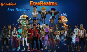 Goodbye Free Realms