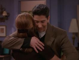 Rachel & Ross Hug - TOW Phoebe's Ex-Partner