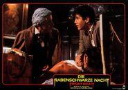 Fright Night 1985 German Lobby Card 09 Roddy McDowall William Ragsdale Amanda Bearse