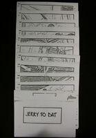Fright Night 1985 Jerry to Bat Storyboards