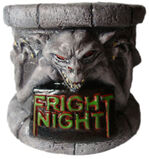 Fright Night Geometric Design Bust Base