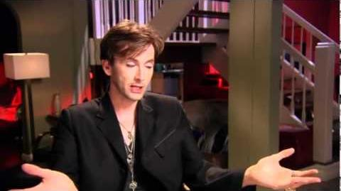 """David Tennant Inteview on the set of """"Fright Night"""""""