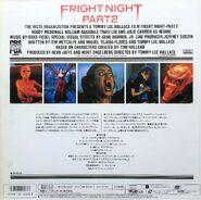 Fright Night Part 2 Japanese Laserdisc Back cr