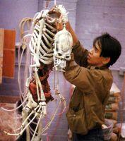 Fright Night 1985 Makio Kida and Jerry Dandrige puppet