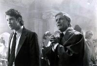 Fright Night Part 2 Roddy McDowall and William Ragsdale