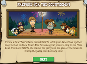 New Year Event Popup