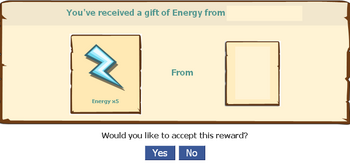 Received a Gift of Energy