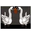 Kissing Swans-icon