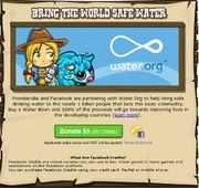 Water Donation