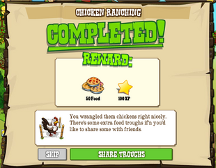 Chicken Ranching Completed