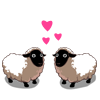 Kissing Sheep-icon