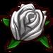 White Rosebud-icon