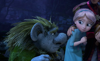 Elsa and Pabbie